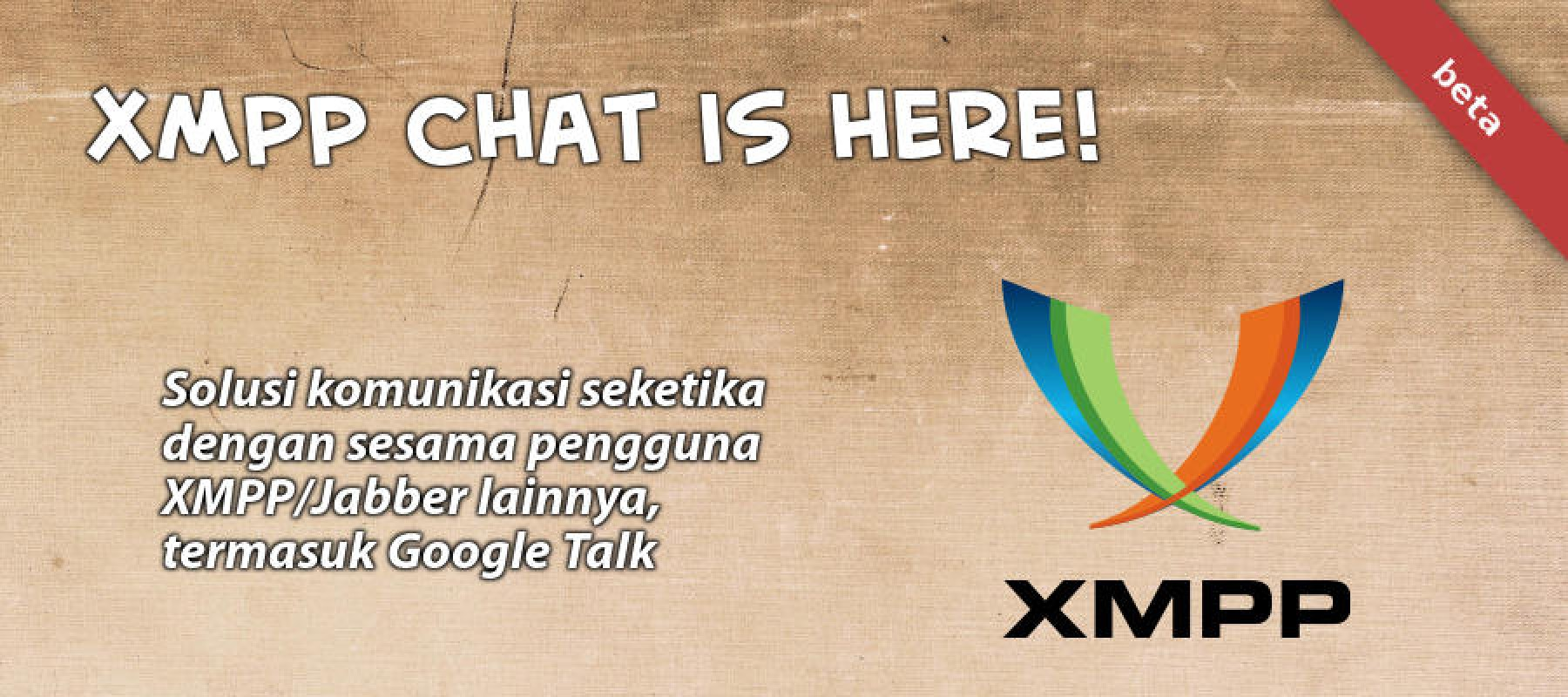 XMPP Chat is here!